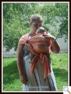 atelier écharpe de portage bébé