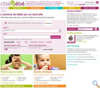 Côté bébé : Informations futurs parents et jeunes parents